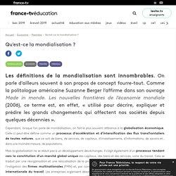 Qu'est-ce la mondialisation ? - Article