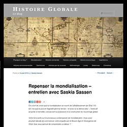 Repenser la mondialisation – entretien avec Saskia Sassen