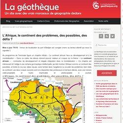 Les territoires dans la mondialisation