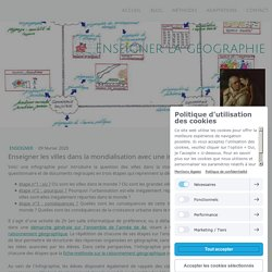 Enseigner les villes dans la mondialisation avec une infographie interactive - Site de enseigner-la-geographie !
