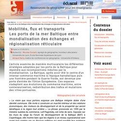 Mobilités, flux et transports
