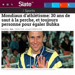 Mondiaux d'athlétisme: 30 ans de saut à la perche, et toujours personne pour égaler Bubka