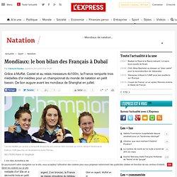 Mondiaux: le bon bilan des Français à Dubaï