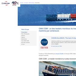 Un des leaders mondiaux du transport maritime par conteneur