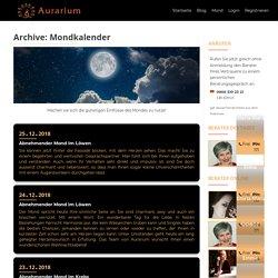 Mondkalender Archive