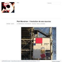 Piet Mondrian : l'évolution de ses oeuvres