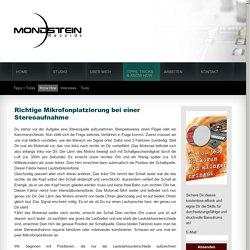 Mondstein Records: Stereomikrofonierung