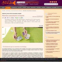 Monedas comunitarias en España
