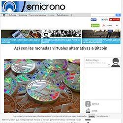 Así son las monedas virtuales alternativas a Bitcoin