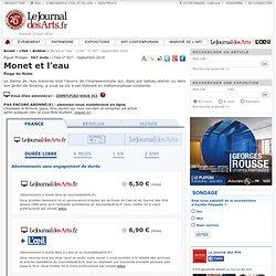 Monet et l'eau - L'Oeil - n° 627 - Septembre 2010