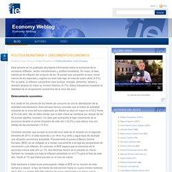 Política monetaria y crecimiento económico