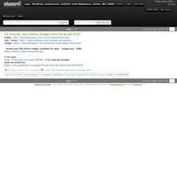 Où trouver des vidéos images sons libres de droit - Azqs : WordPress, monétisation, visibilité, outils Webmestres, édition, DEV, ADMIN
