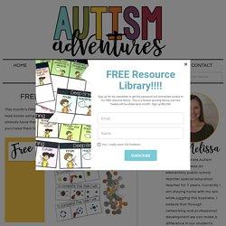 FREE Money Task Boxes! » Autism Adventures