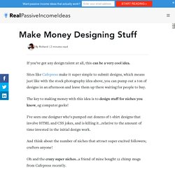 Make Money Designing Stuff