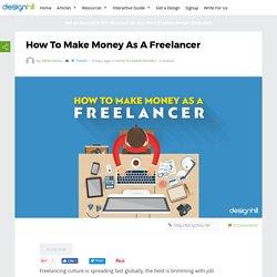 How To Make Money As A Freelancer – Designhill