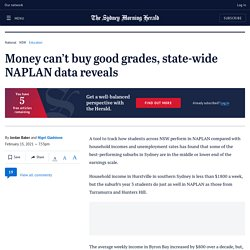 Money can't buy good grades, state-wide NAPLAN data reveals