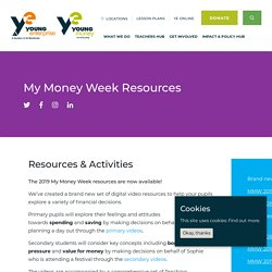 My Money Week Resources - Young Enterprise & Young Money