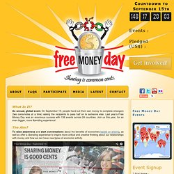 Free Money Day | Sharing Is Common Cents