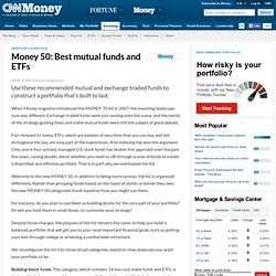 Money 70: The best funds you can buy