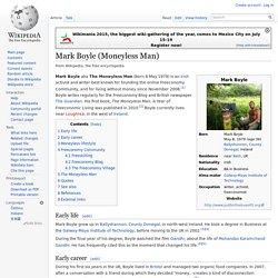 Mark Boyle (Moneyless Man)