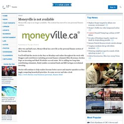 Moneyville - Welcome to Financial Possibility