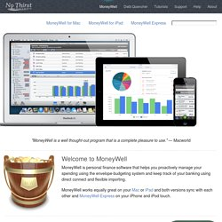 MoneyWell - Personal Finance Software for Mac and iPhone