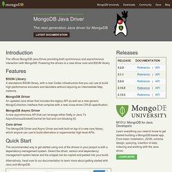 MongoDB Java Driver