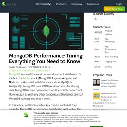 MongoDB Performance Tuning: Everything You Need to Know