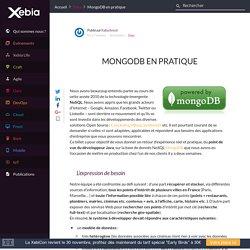 MongoDB en pratique