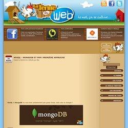NoSQL - MongoDB et PHP: Première approche