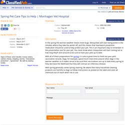 Monhagen Vet Hospital - Classified Ad