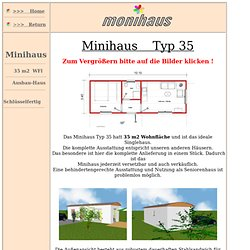 monihaus - Minihaus 35 - Containerhaus - combi-box