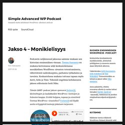 Simple Advanced WP Podcast