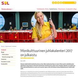 Monikulttuurinen juhlakalenteri 2017 on julkaistu - SOL Palvelut