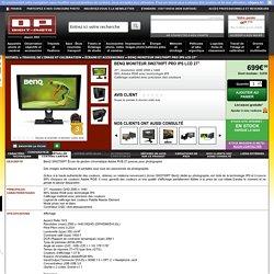 """BENQ Moniteur SW2700PT Pro IPS LCD 27"""" - 4718755059551 - Avis"""