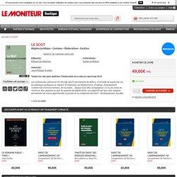 Le SCoT: Le Moniteur Boutique: Jean-Philippe Strebler: Livre