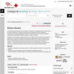Moniteur éducateur - Institut de Formation Croix-Rouge PACA & Corse