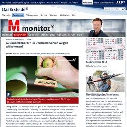 Monitor Nr. 669 vom 20.11.2014 - Monitor - ARD