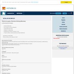 Oferta de empleo: Monitor/a - Ofertas de trabajo y empleo bolsa de trabajo empleos trabajos