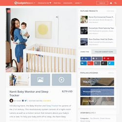 Nanit Baby Monitor Sleep Tracker