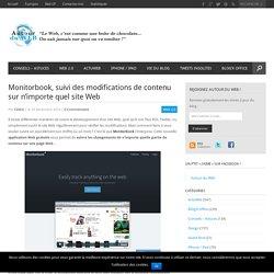 Monitorbook, suivi des modifications de contenu sur n'importe quel site Web