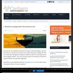 Monitorer une page web et être alerté par mail