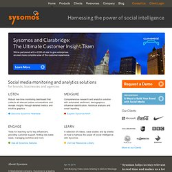Sysomos - Business Library for Social Media
