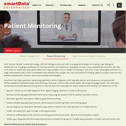 Remote Patient Monitoring and Screening Management