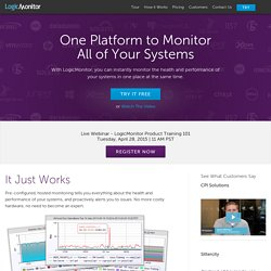 Hosted Monitoring | Network Monitoring | Cloud Monitoring | LogicMonitor
