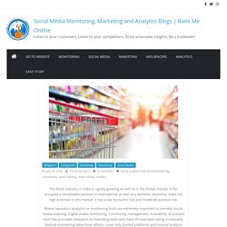 Role of brand analysis tools in Retail Industry