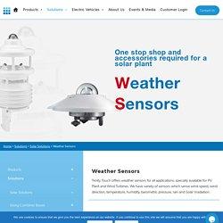 Meteorological Sensors In India