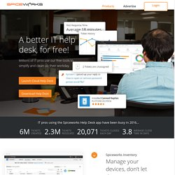 Free Network Monitoring Software | Spiceworks Free Network Management Software