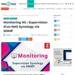 Monitoring #5 : Supervision d'un NAS Synology via SNMP