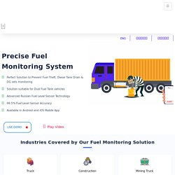 Get Fuel Monitoring System